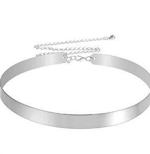 2 Mirrored Metal Belts
